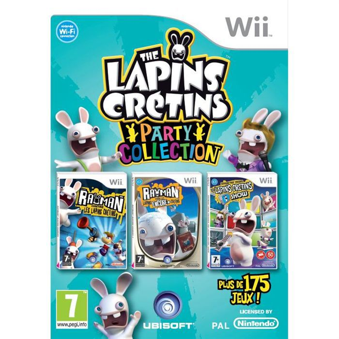 The Lapins Crétins : Party Collection (WII)